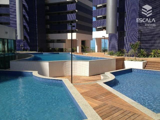 Apartamento com 2 dormitórios para alugar, 56 m² por R$ 3.200/mês - Meireles - Fortaleza/CE