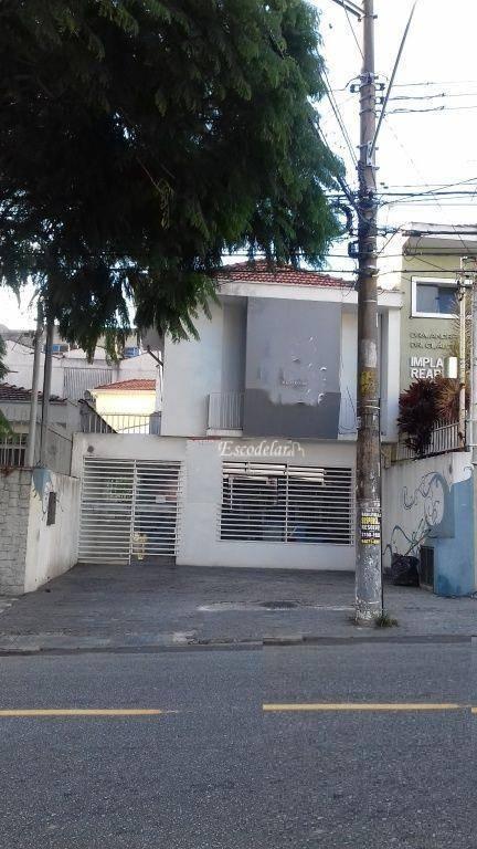 Sobrado comercial para locação, Santana, São Paulo.