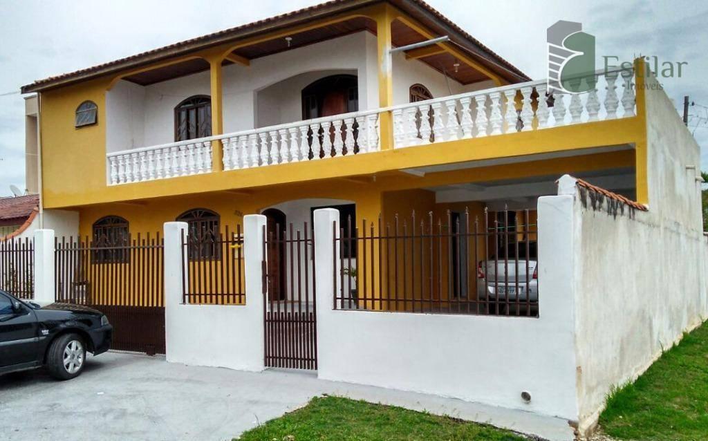 Sobrado 04 quartos (1 suíte) no Iná, São José dos Pinhais.