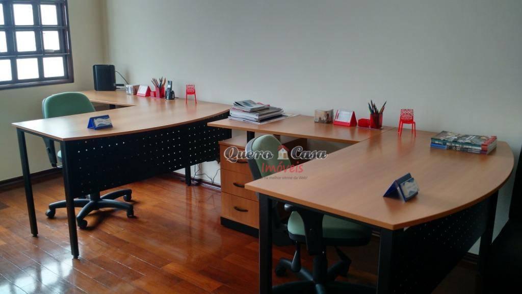 Sala para alugar, 95 m² por R$ 900/mês - Vila Barros - Guaru
