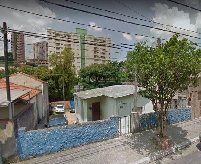 Terreno à venda, 252 m² por R$ 480.000 - Santa Maria - São Caetano do Sul/SP