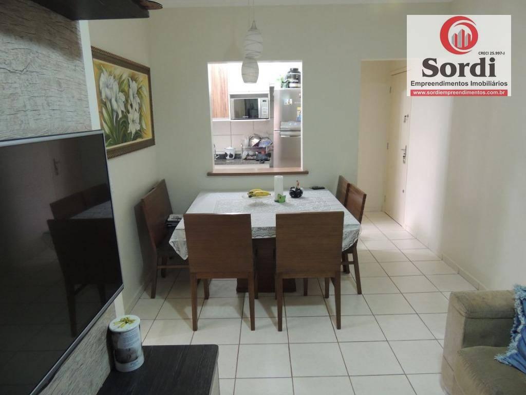 Apartamento à venda, 67 m² por R$ 260.000,00 - Parque Residencial Lagoinha - Ribeirão Preto/SP