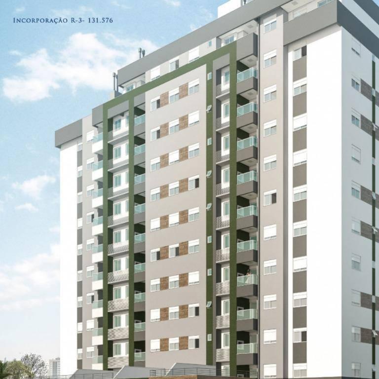 Apartamento com 2 dormitórios à venda, 60 m² - Próspera - Criciúma/SC