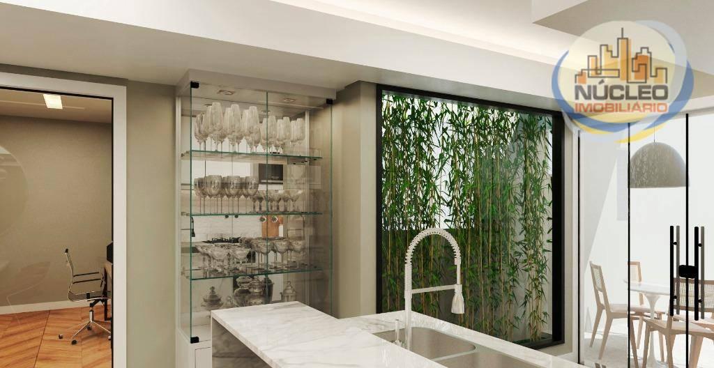 Apartamento com 3 Dormitórios à venda, 165 m² por R$ 566.155,03