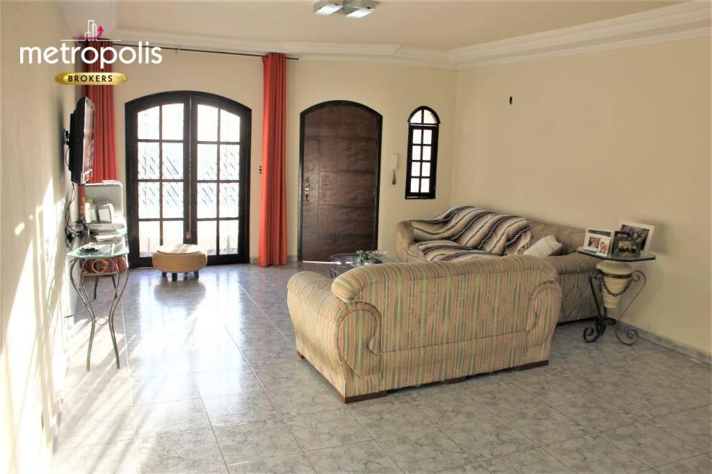 Sobrado à venda, 283 m² por R$ 693.000,00 - Campestre - Santo André/SP