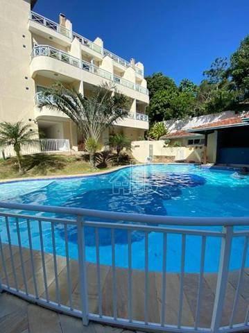 Flat com 1 dormitório à venda, 52 m² por R$ 212.000,00 - Itaipu - Niterói/RJ
