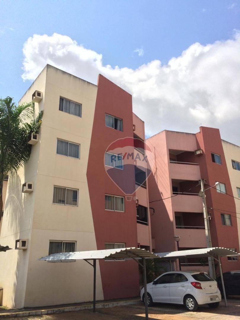 Apartamento com 2 dormitórios para alugar, 55 m² por R$ 700/mês - Rosa dos Ventos - Parnamirim/RN