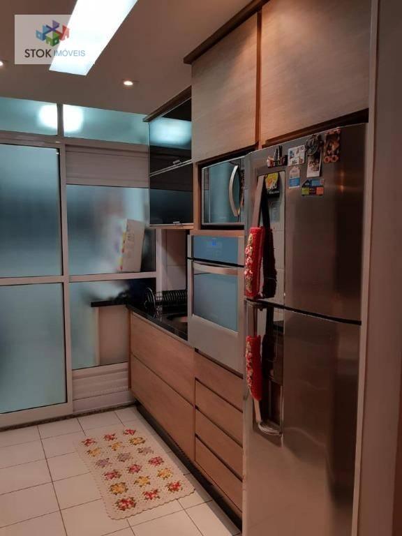 Apartamento com 3 dormitórios à venda, 75 m² por R$ 450.000 - Vila Augusta - Guarulhos/SP