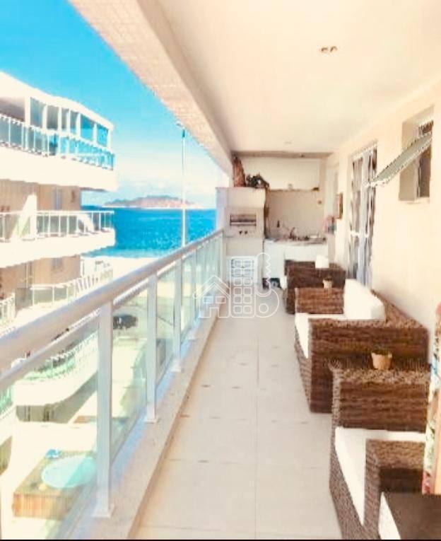 Apartamento residencial à venda, Piratininga, Niterói.
