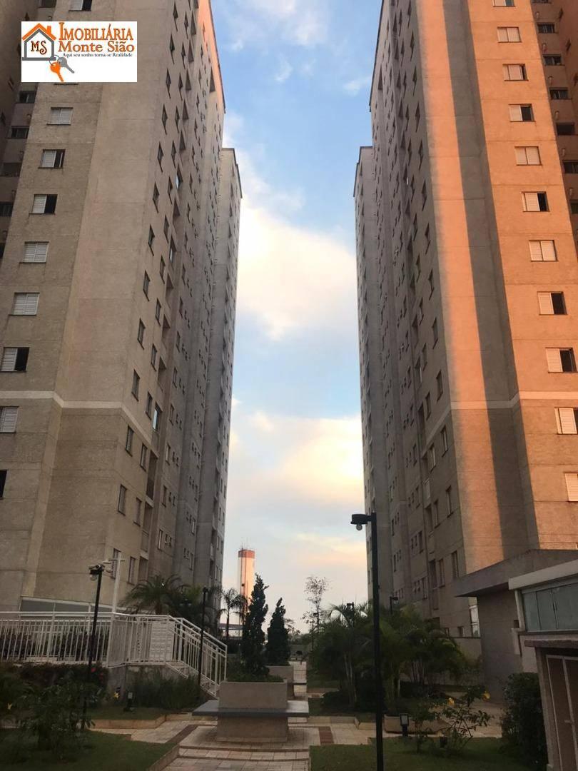 Apartamento com 2 dormitórios à venda, 53 m² por R$ 290.000,00 - Vila Miriam - Guarulhos/SP