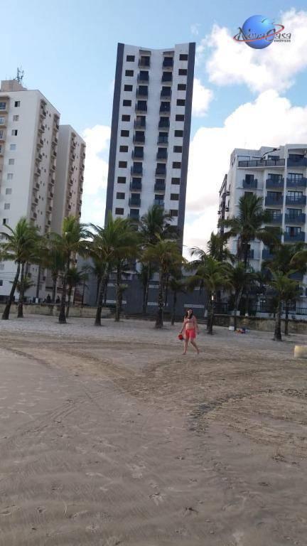 Apartamento com 2 dormitórios para alugar, 88 m² por R$ 1.200/mês - Balneário Flórida - Praia Grande/SP