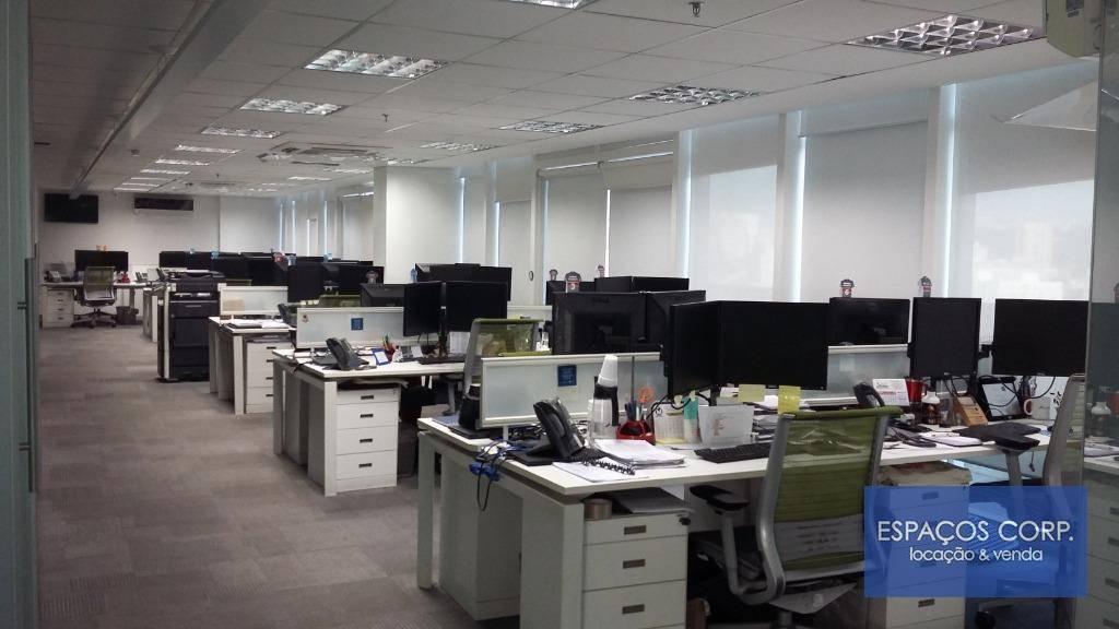 Laje corporativa - cobertura duplex, 1.131m² para locação. R$ 68.000/mês- Brooklin - São Paulo/SP