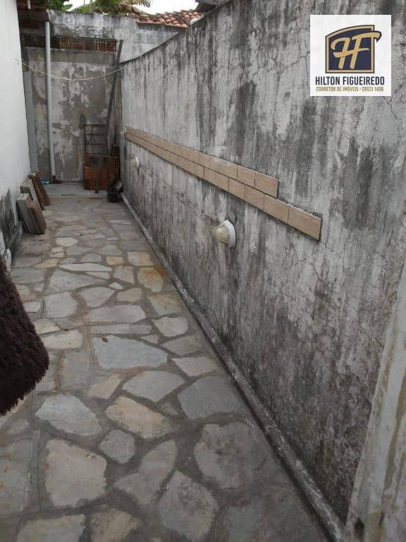 Vendo casa em condomínio fechado em Água fria, 62 m² por R$ 115.000 - João Pessoa/PB (aceita Permuta)