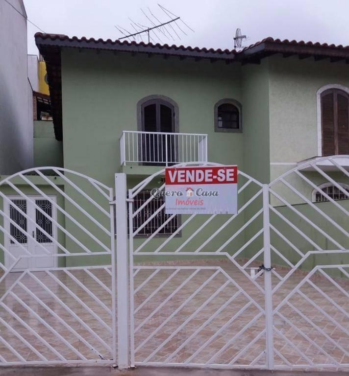 Sobrado com 2 dormitórios à venda, 167 m² por R$ 495.000 - J