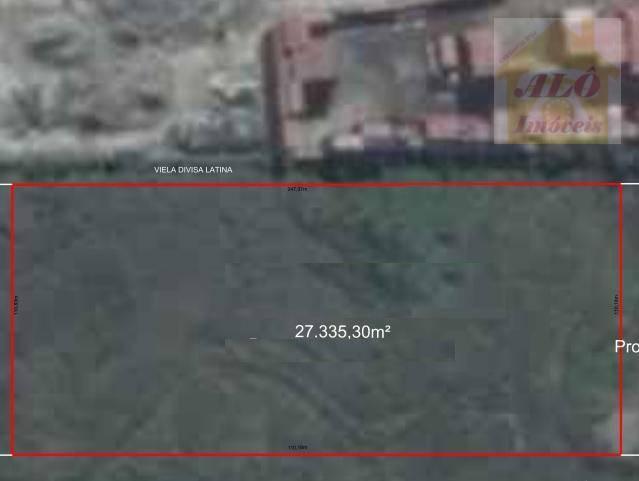 Área à venda, 37670 m² por R$ 32.100.000,00 - Samarita - São Vicente/SP
