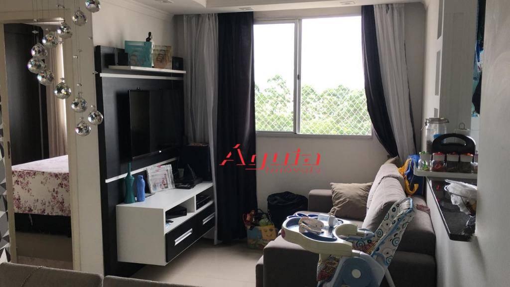 Apartamento com 2 dormitórios à venda, 47 m² por R$ 230.000 - Parque São Vicente - Mauá/SP