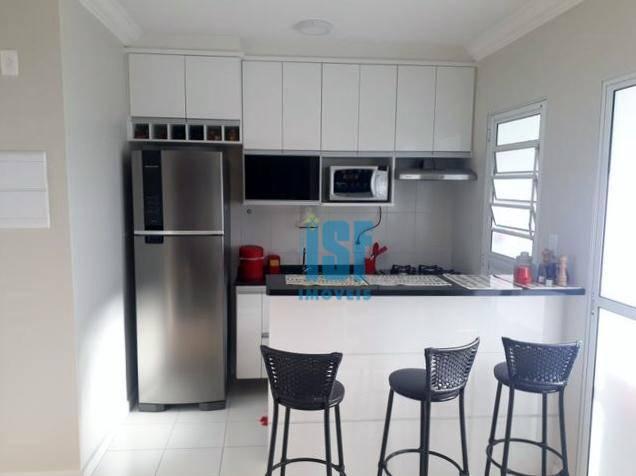 Apartamento com 2 dormitórios à venda, 48 m² por R$ 235.000  e para locação - Padroeira - Osasco/SP - AP15262.
