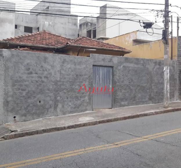 Terreno à venda, 300 m² por R$ 580.000 - Bairro Jardim - Santo André/SP