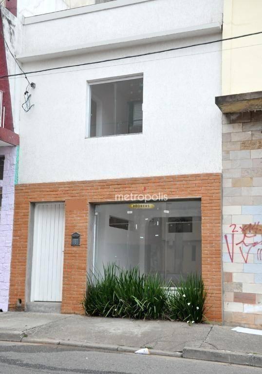Sobrado para alugar, 175 m² por R$ 2.900,00/mês - Cerâmica - São Caetano do Sul/SP