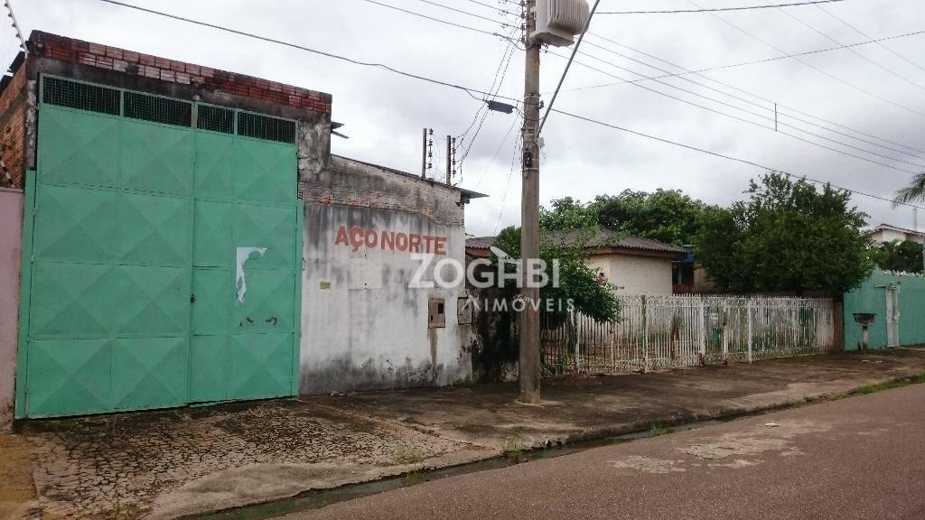 Casa com galpãp à venda no jardim das mangueiras