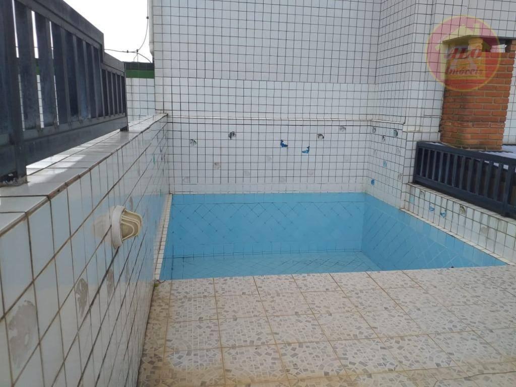 Cobertura, 148 m² - venda por R$ 1.100.000,00 ou aluguel por R$ 4.500,00/mês - Canto do Forte - Praia Grande/SP