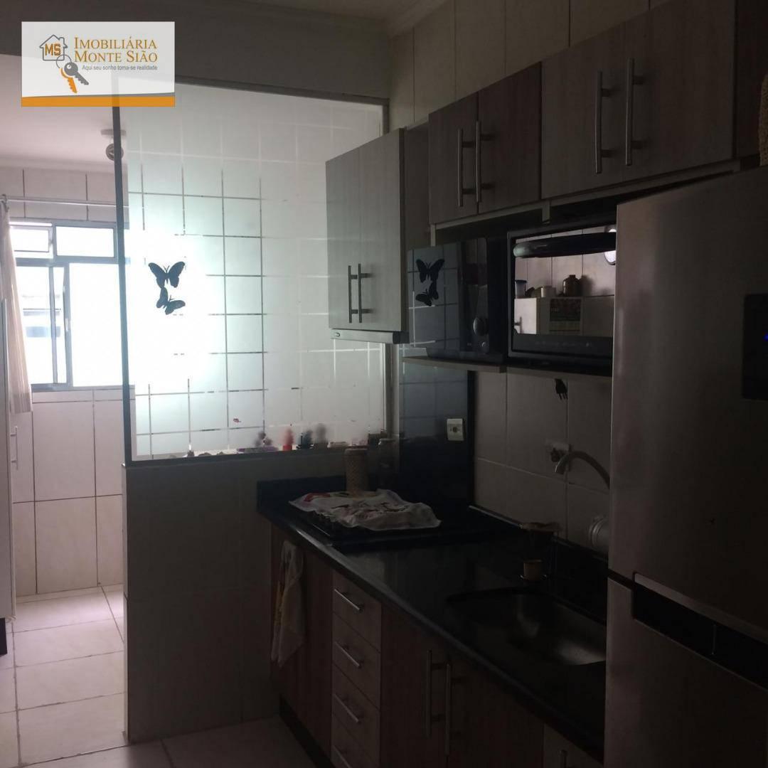 Apartamento com 2 dormitórios à venda, 56 m²  - Mikail II - Guarulhos/SP