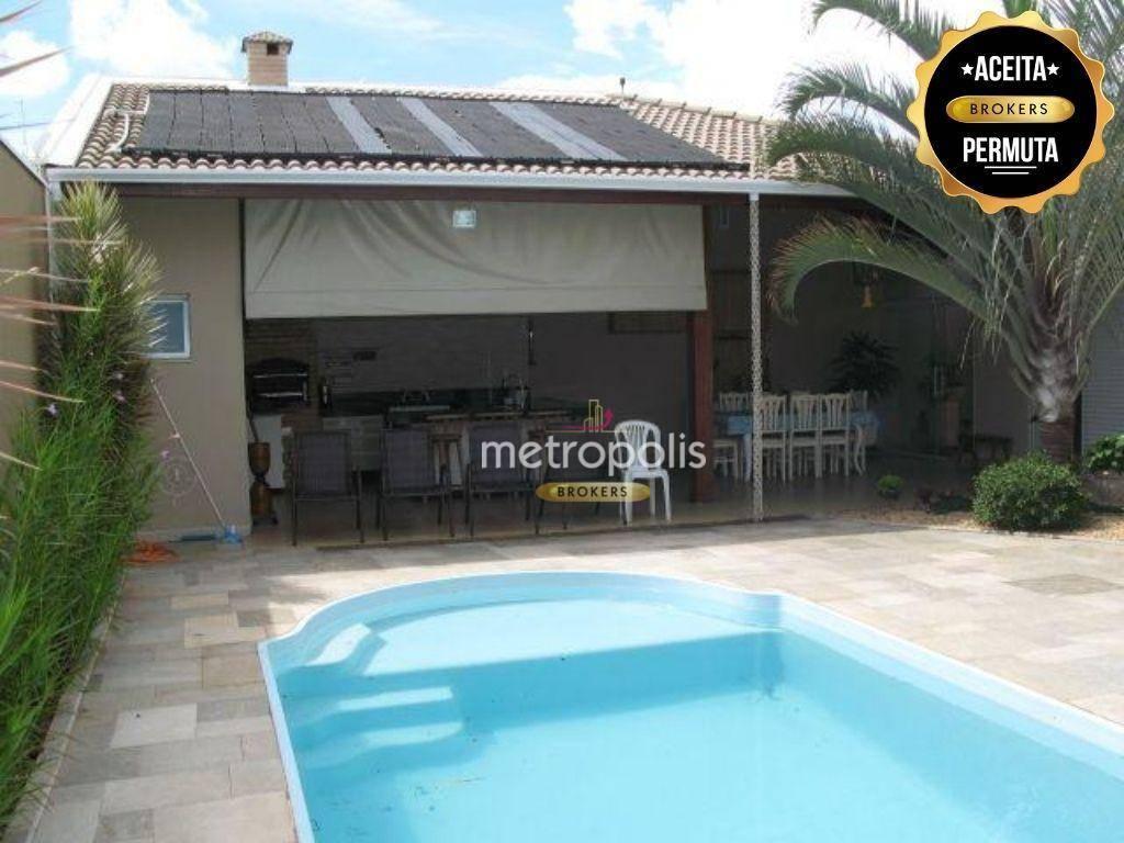 Casa com 3 dormitórios, 290 m² - venda por R$ 1.600.000 ou aluguel por R$ 5.800/mês - Jardim Chácara Auler - Jaú/SP