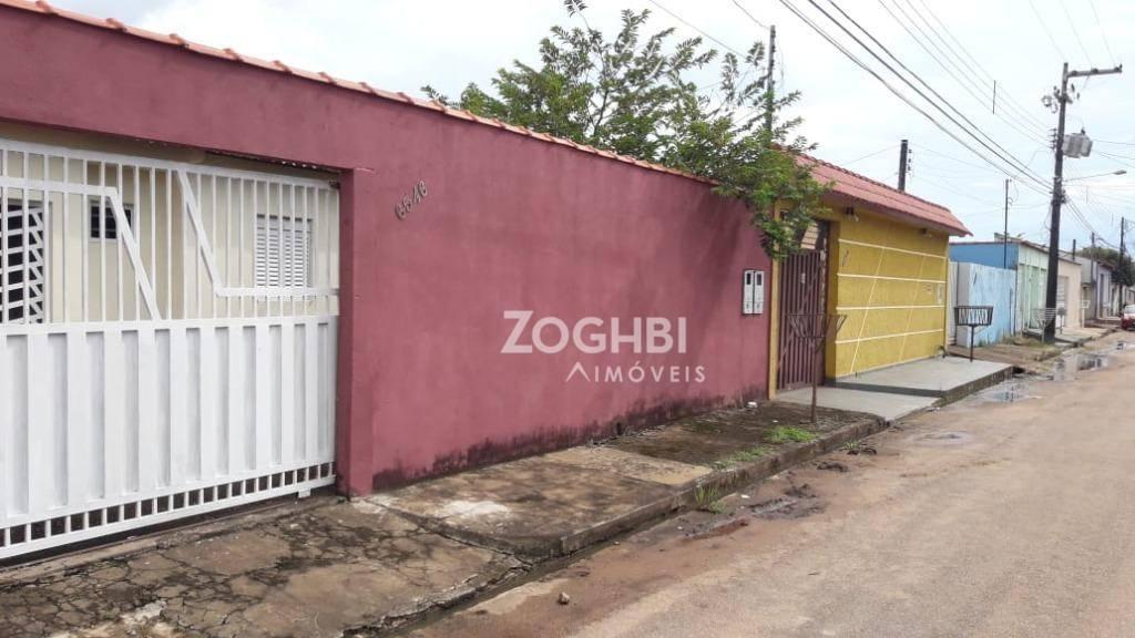 Casa com 3 dormitórios para alugar, 180 m² por R$ 1.500/mês - Aponiã - Porto Velho/RO