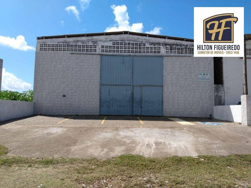Excelente Galpão pronto para alugar próximo a BR, 375 m² por R$ 3.500/mês - Renascer - Cabedelo/PB