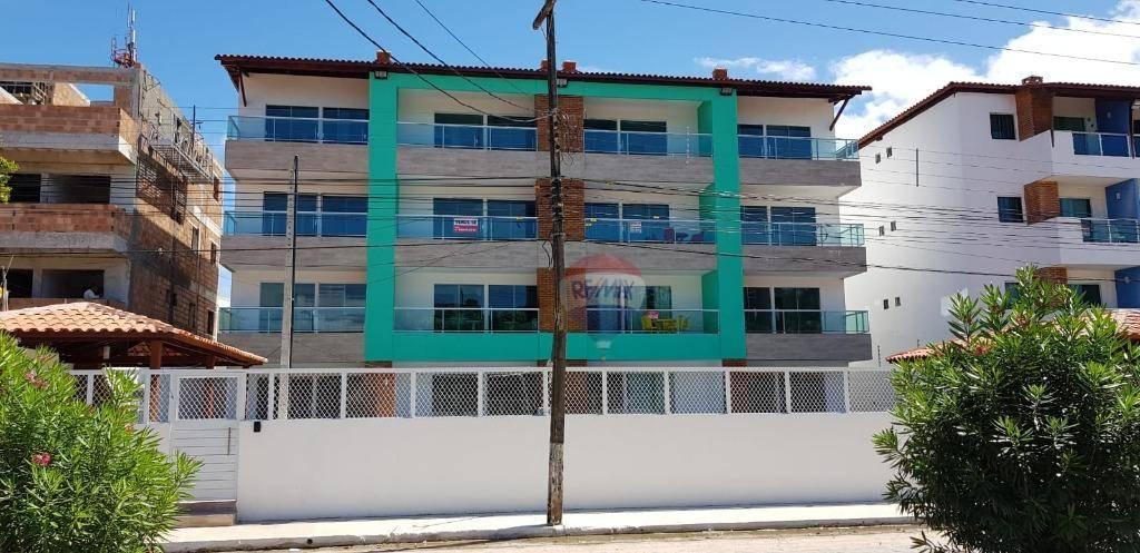 Apartamento com 2 dormitórios à venda, 35 m² por R$ 420.000,00 - Carneiros - Tamandaré/PE