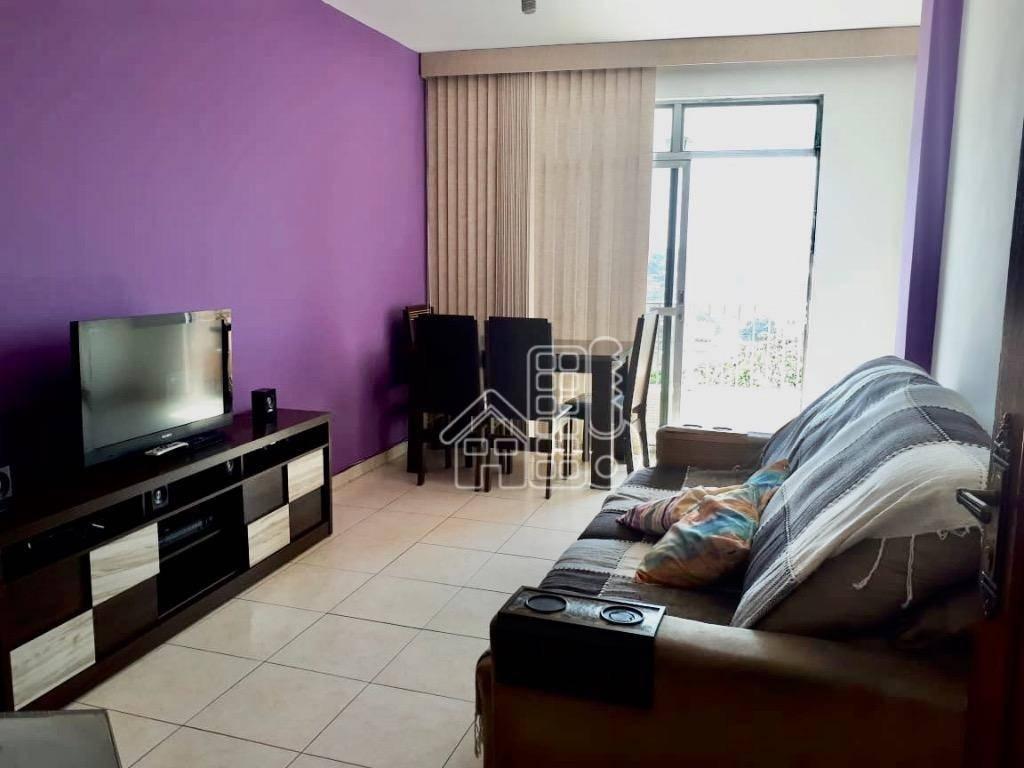 Apartamento com 2 dormitórios à venda, 80 m² por R$ 250.000,00 - Centro - São Gonçalo/RJ
