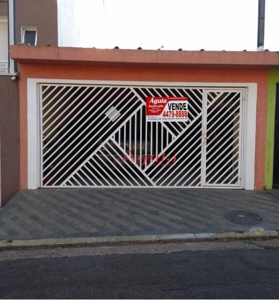 Casa residencial à venda, Vila Alto de Santo André, Santo André.