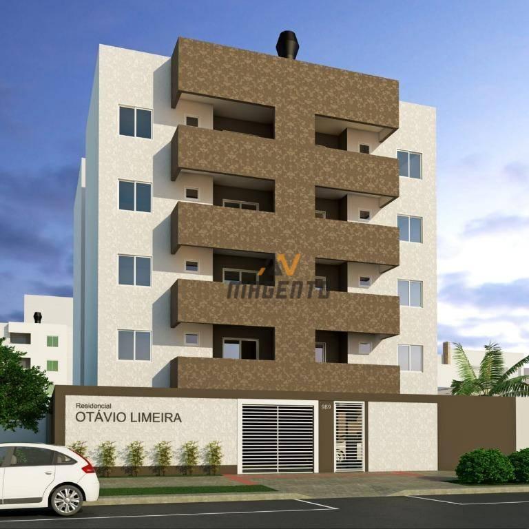 Apartamento com 2 dormitórios à venda, 60 m² por R$ 209.000 - Claudete - Cascavel/PR