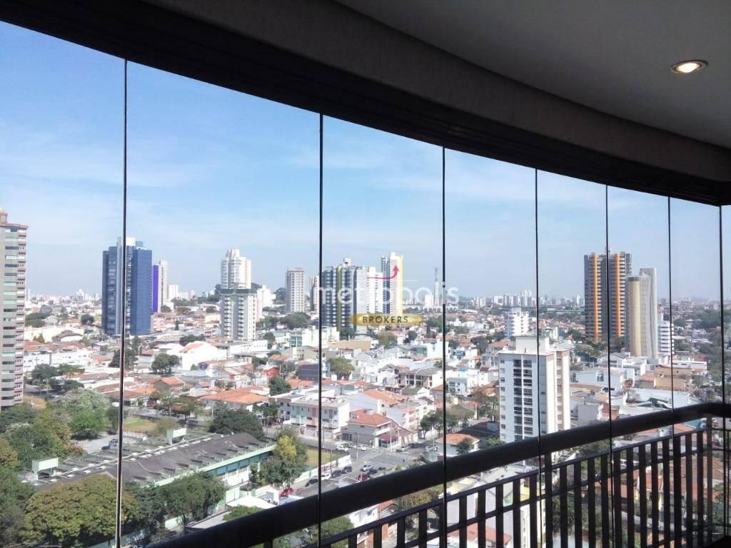 Apartamento com 3 dormitórios à venda, 114 m² por R$ 890.000 - Jardim - Santo André/SP
