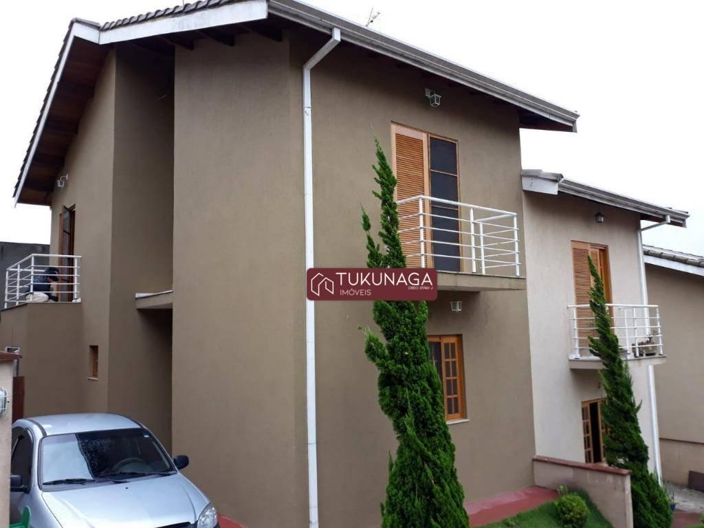 Sobrado com 2 dormitórios à venda, 87 m² por R$ 350.000,00 - Jardim das Cerejeiras - Atibaia/SP