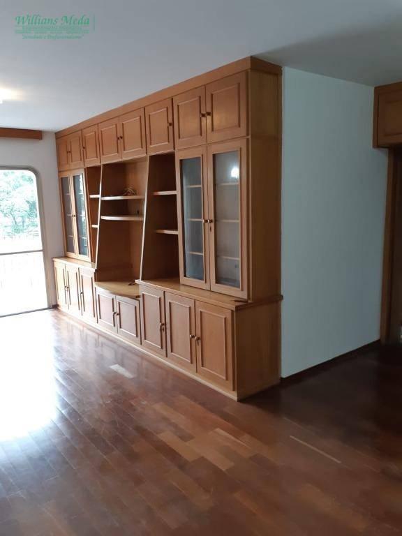 Apartamento com 4 dormitórios para alugar, 178 m² por R$ 2.500/mês - Vila Almeida - Guarulhos/SP