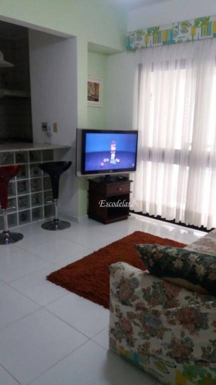 Apartamento residencial à venda, Jardim Três Marias, Guarujá - AP3850.