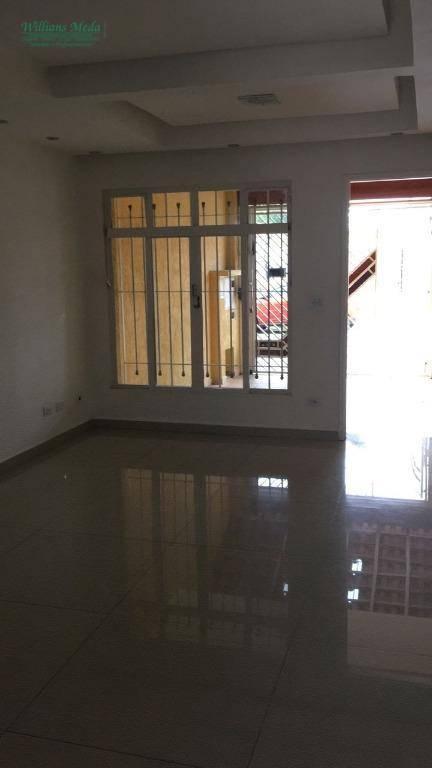 Sobrado residencial para locação, Vila Fátima, Guarulhos.