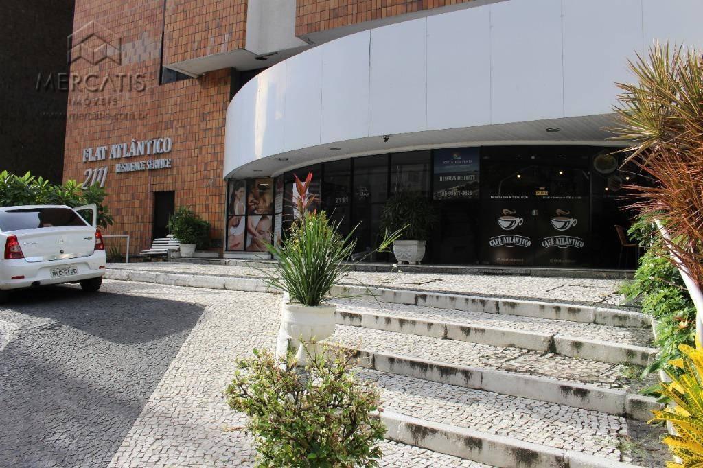 Apartamento à venda | Cond. Atlântico Residence | Bairro Meireles | Fortaleza (CE)