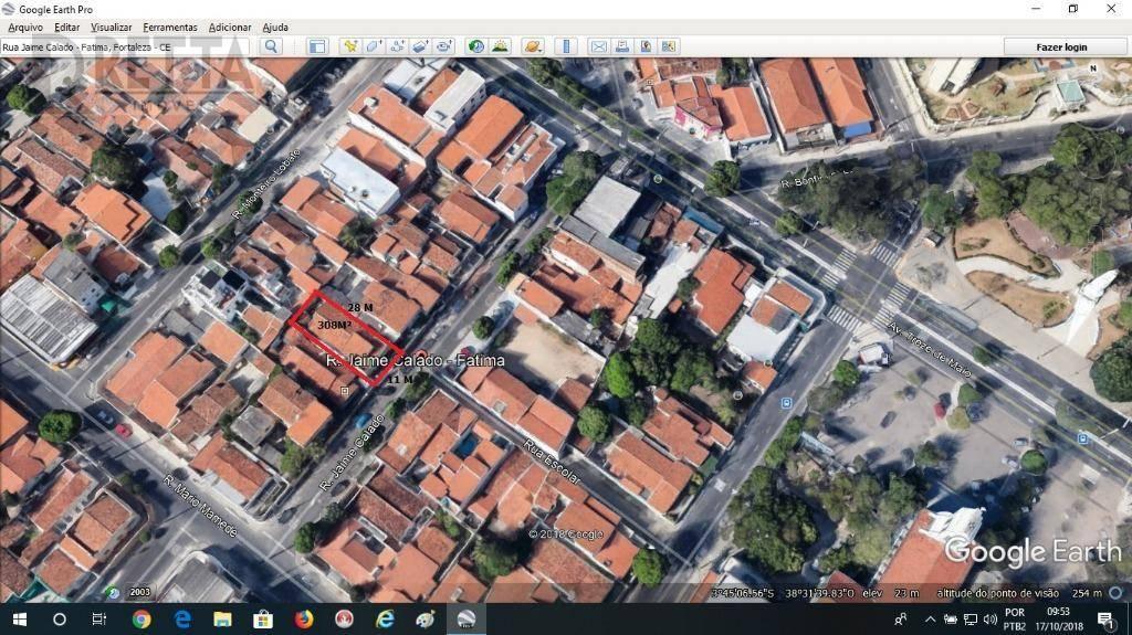 Terreno à venda, Fátima, Fortaleza.