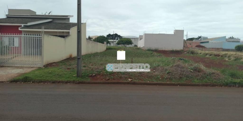 Terreno à venda em Arapongas, 545 m² por R$ 210.000