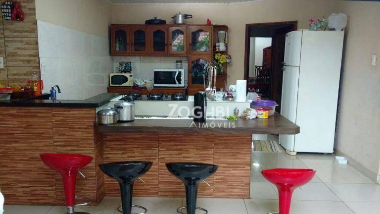 Casa residencial à venda, Nova Floresta, Porto Velho - CA1140.