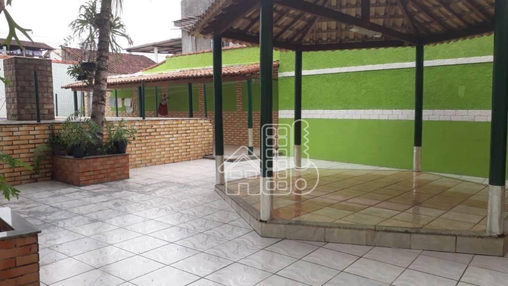 Apartamento com 1 dormitório à venda, 396 m² por R$ 850.000 - Comendador Reis - Magé/RJ