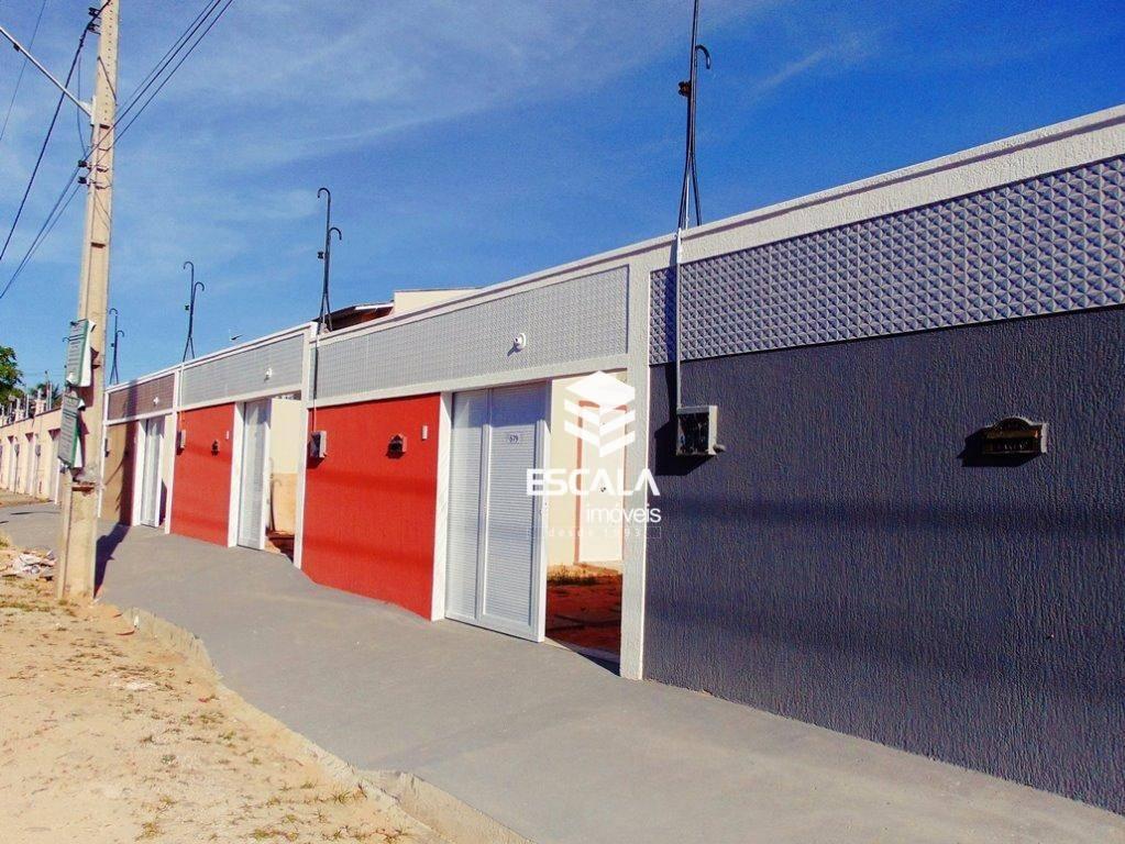 Casa com 3 quartos à venda, 100 m², nova, 3 suítes, 3 vagas, financia - Coité - Eusébio/CE