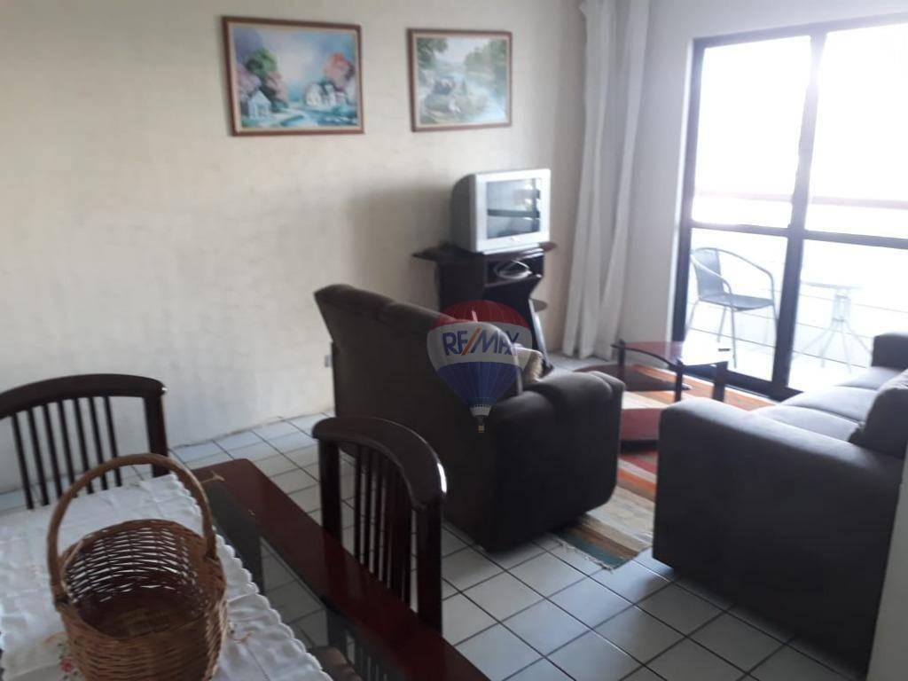 Apartamento Mobiliado em Boa Viagem com 3 quartos para alugar, 85 m² por R$ 1.700,00/mês Recife/PE