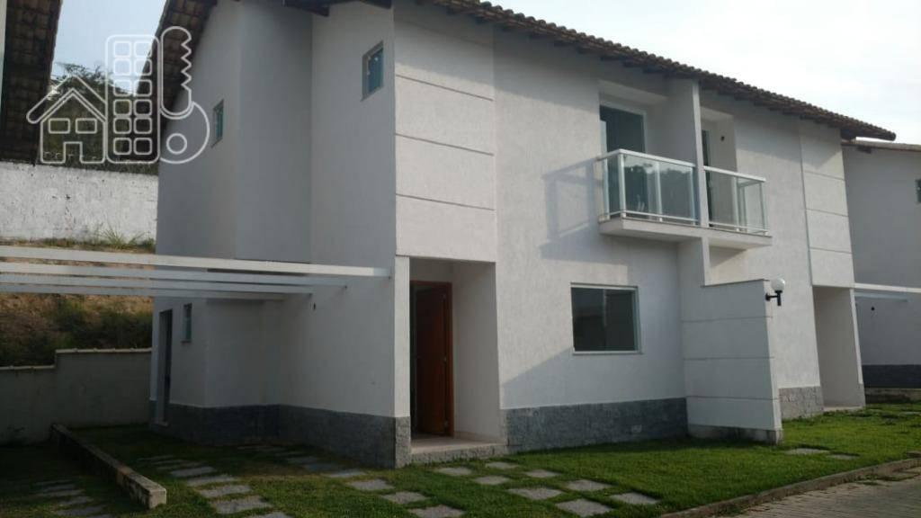 Casa com 3 dormitórios à venda, 101 m² por R$ 285.000 - Maria Paula - São Gonçalo/RJ