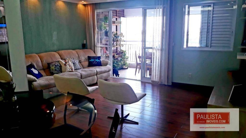 Apartamento com 3 dormitórios à venda, 114 m² por R$ 770.000 - Interlagos - São Paulo/SP