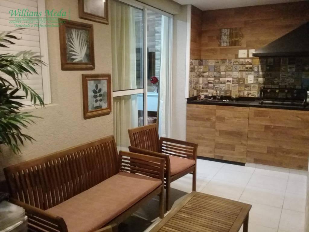 Apartamento com 2 dormitórios à venda, 65 m² por R$ 420.000 - Jardim Flor da Montanha - Guarulhos/SP