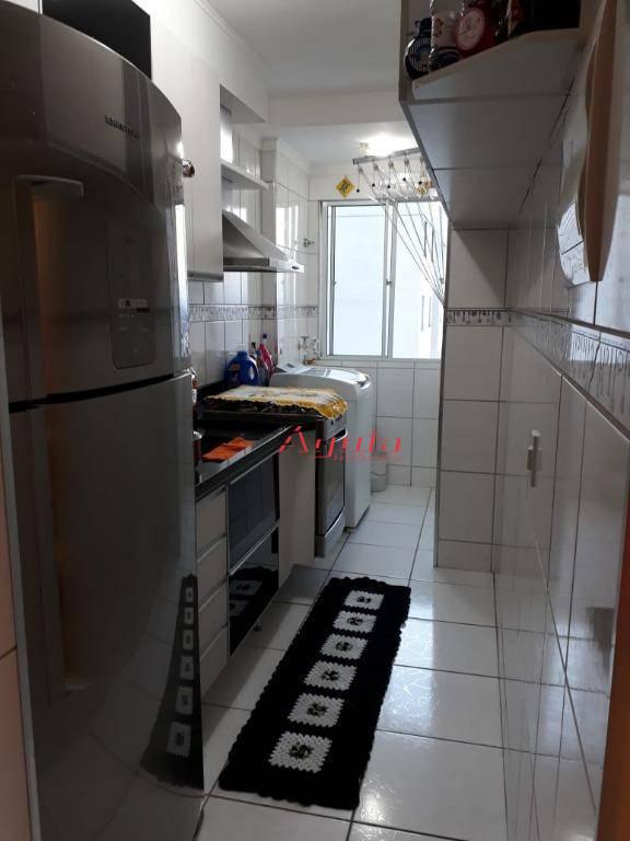 Apartamento residencial à venda, Parque Erasmo Assunção, Santo André - AP1322.