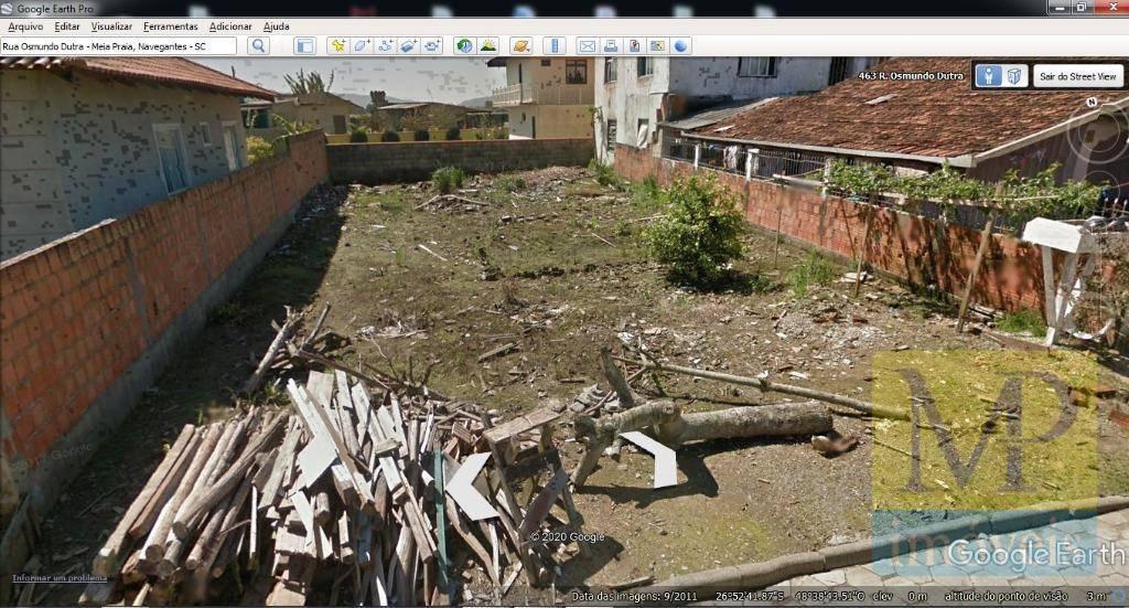 Terreno à venda, 300 m² por R$ 160.000,00 - Meia Praia - Navegantes/SC